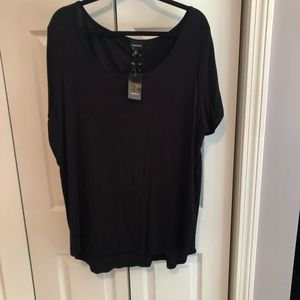 NWT Torrid Lace Up Back T-shirt Size 3